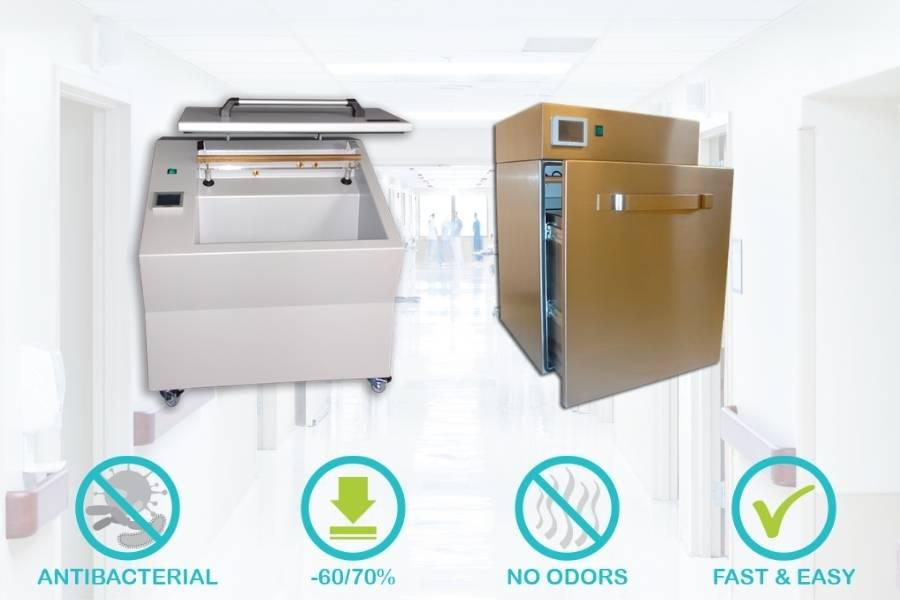 dispositivi di sterilizzazione ultravioletti Vacumet e Vaculux