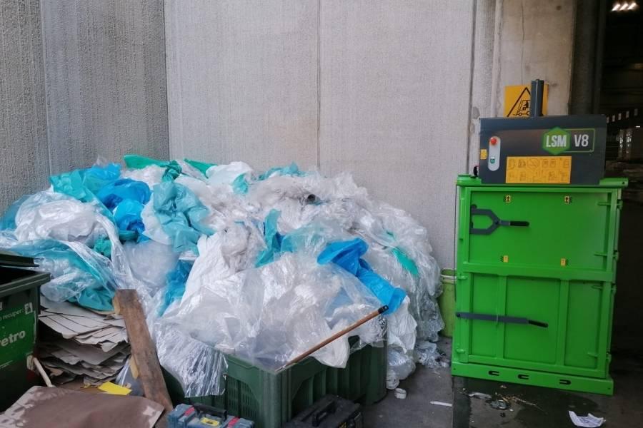 Pressa compattatrice, come gestire i rifiuti aziendali