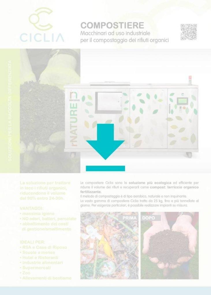Macchinari per il compostaggio brochure